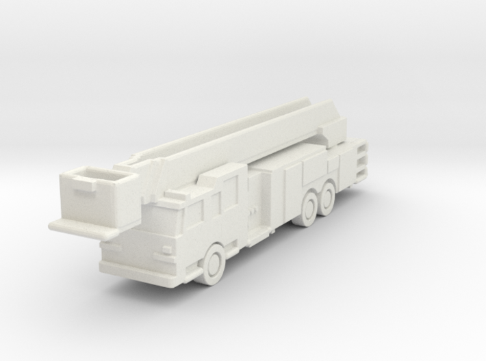 1:285 Pierce Arrow 100' Rearmount Platform Ladder 3d printed
