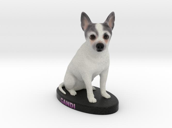 Custom Dog Figurine - Candi 3d printed
