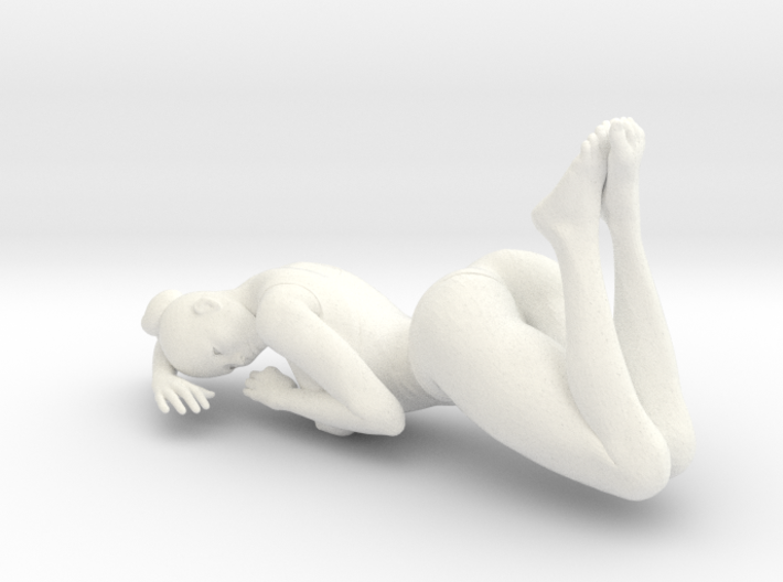 Sexy Girl-001 scale 1/24 Passed 3d printed