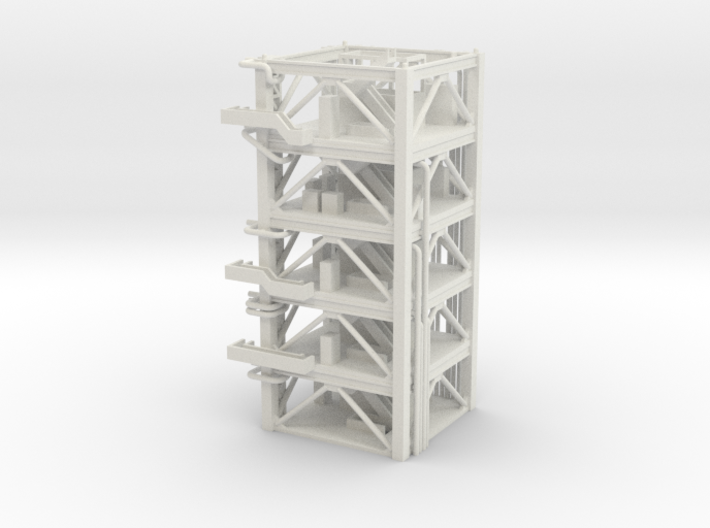 1/400 NASA LUT levels 8-12 (Launch Umbilical Tower 3d printed