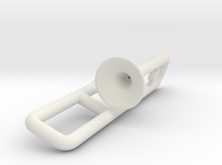 Trombone for Minifigures 3d printed