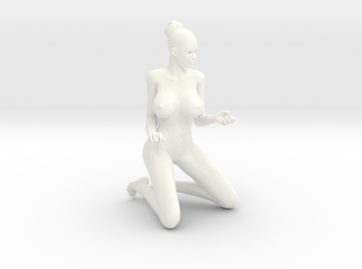 Sexy Girl-036 scale 1/18 Passed 3d printed