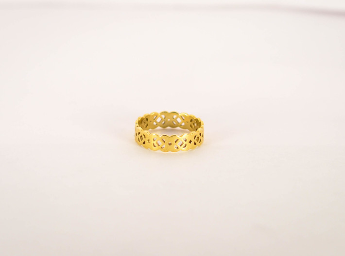 Celtic Ring Size 6 3d printed