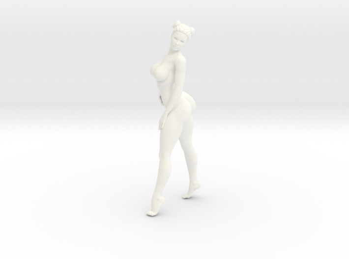 Sexy naked girl 008 scale 1/24 Passed 3d printed