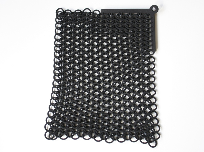 Chainmail 3d printed chainmail