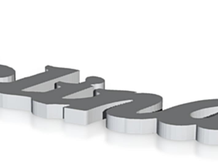 Selina in 925 Premium Silver 3d printed