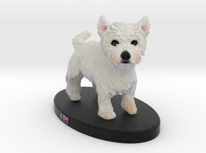 Custom Dog FIgurine - Ari 3d printed