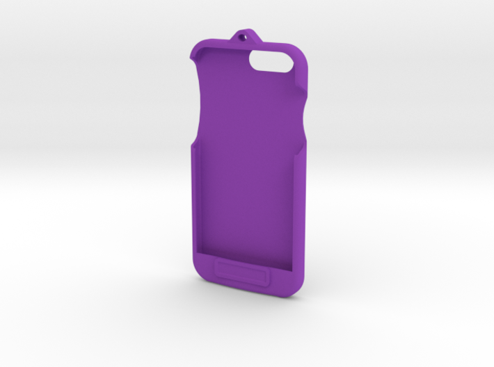 iPhone 6 - LoopCase w FlexFace Button 3d printed