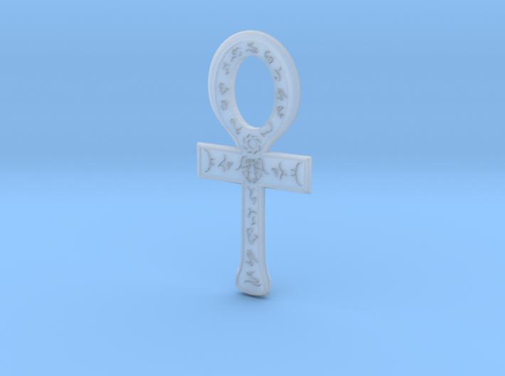 Rune Ankh 3d printed