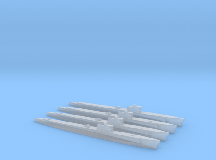 Gato Class 1/2400 x4 3d printed