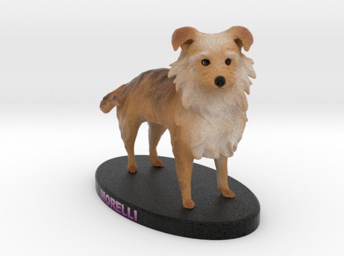 Custom Dog Figurine - Morelli 3d printed