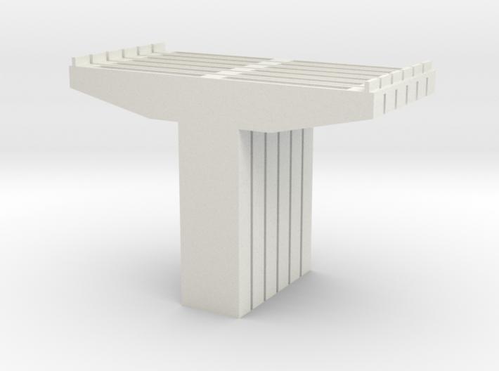 N scale Bridge supports 3d printed