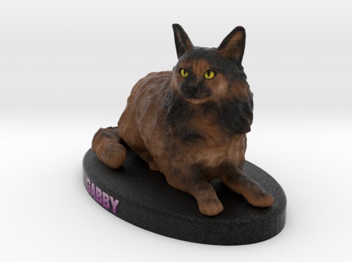 Custom Cat Figurine - Gabby 3d printed