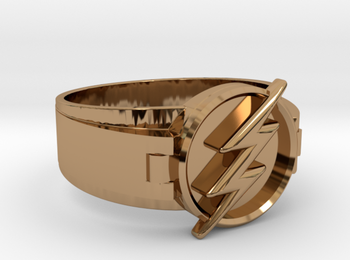 Flash Ring Size 10.5, 20.20mm 3d printed