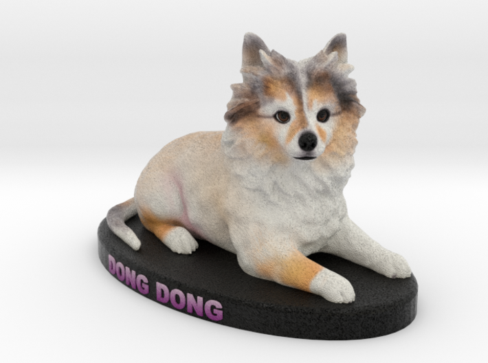 Custom Dog Figurine - Dong 3d printed