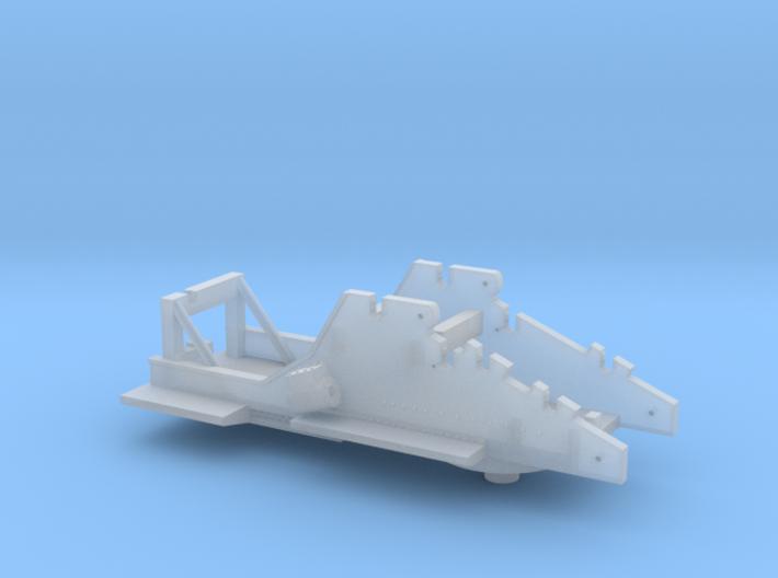 Nz120 (3/5) Craven 40-ton Steam Crane - Body 3d printed