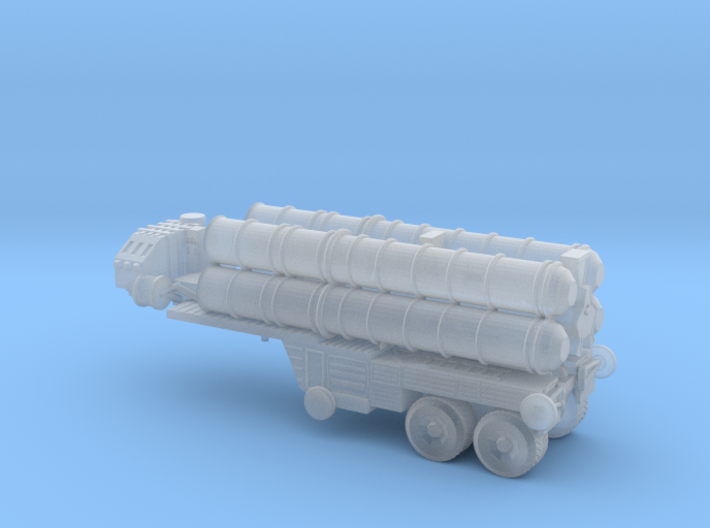 S-400 (SA-21) missiles (stowed) 6mm 3d printed