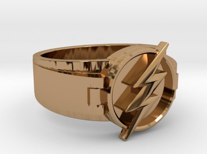 V2 Flash Ring Size 8, 18.19mm 3d printed