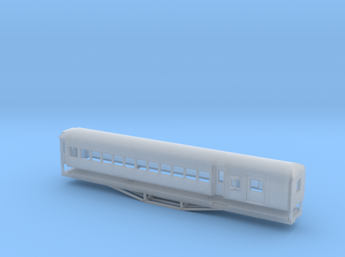 AL Car-van, New Zealand, (N Scale, 1:160) 3d printed