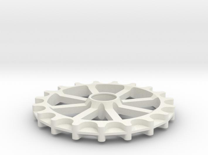 Idler for GT2-11 belt - 19 teeth, 11 mm pitch 3d printed