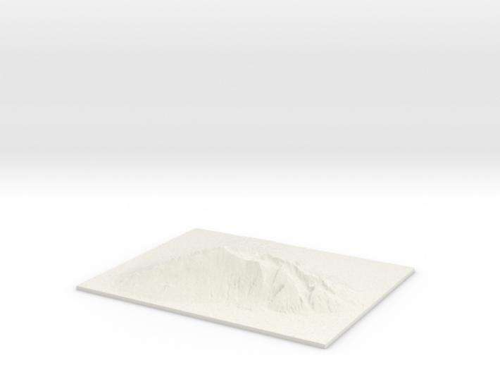 "Haleakala, 2.5x, 8"" 3d printed"