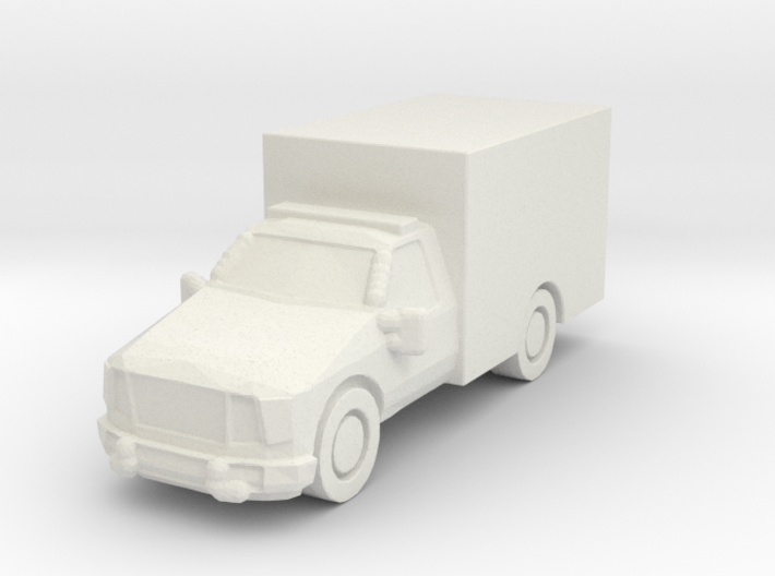 Ford ambulance 1:285 scale 3d printed
