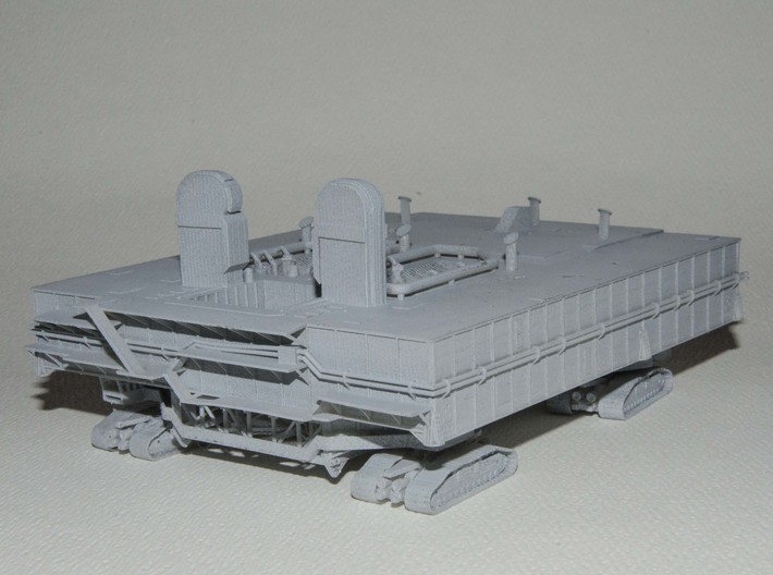 1/400 Shuttle MLP & Crawler, launch pad 3d printed My first customer's model. Thanks to Bill Gugold for the photos.