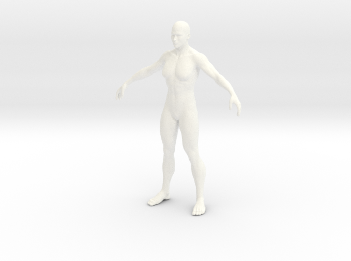 Man in 6cm Passed 3d printed
