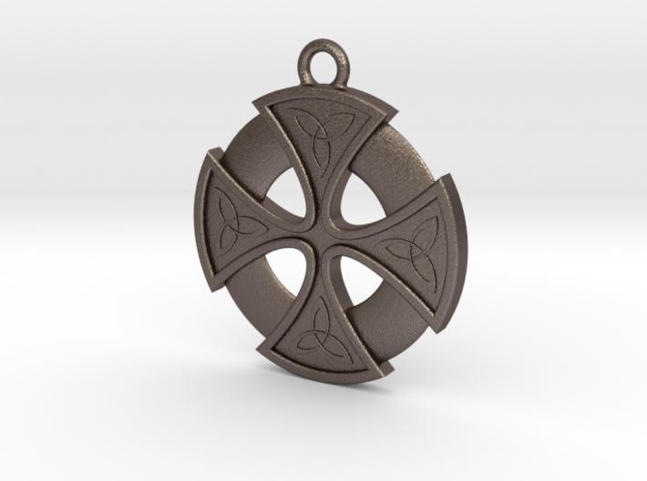 Trefoil Cross 002 3d printed