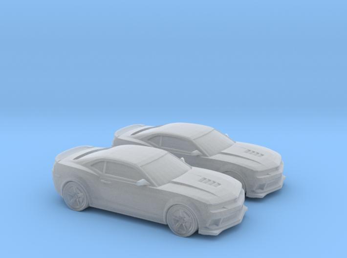 1/160 2X 2014 Chevrolet Camaro Z28 3d printed