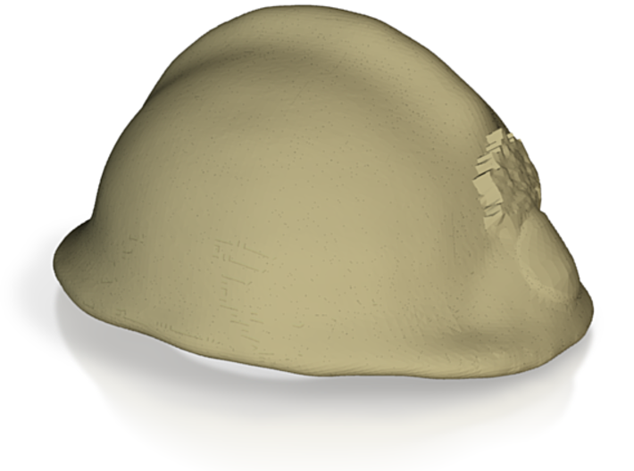adrian helmet WW2 French army FFI 3d printed