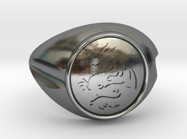 DRAGON Men Ring 3d printed