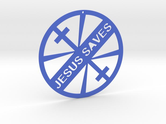 JESUS SAVES 3d printed