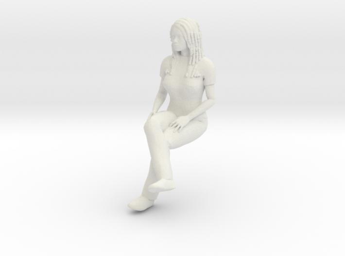 Newgirl-sitting 1/24 3d printed