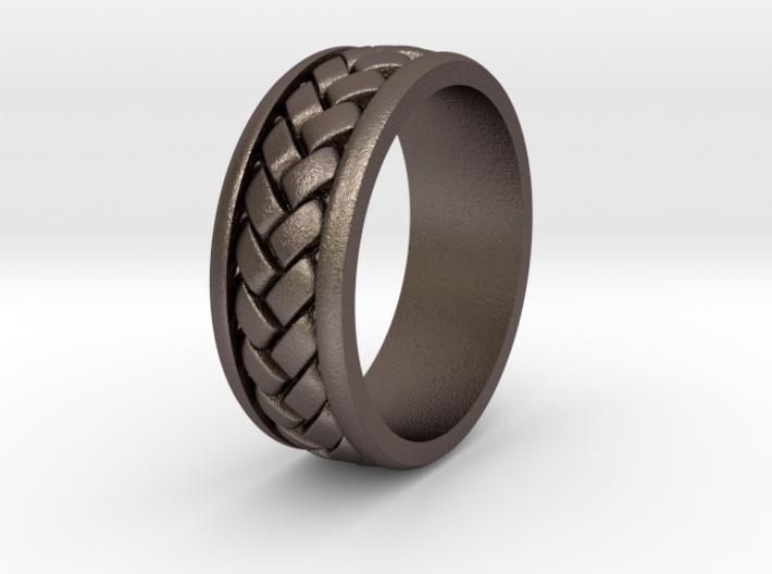 Weave Ring - SZ10 3d printed