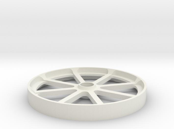 Smooth belt idler - 100mm 3d printed