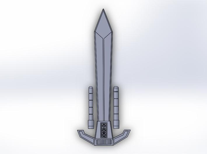 Menasor Sword 3d printed