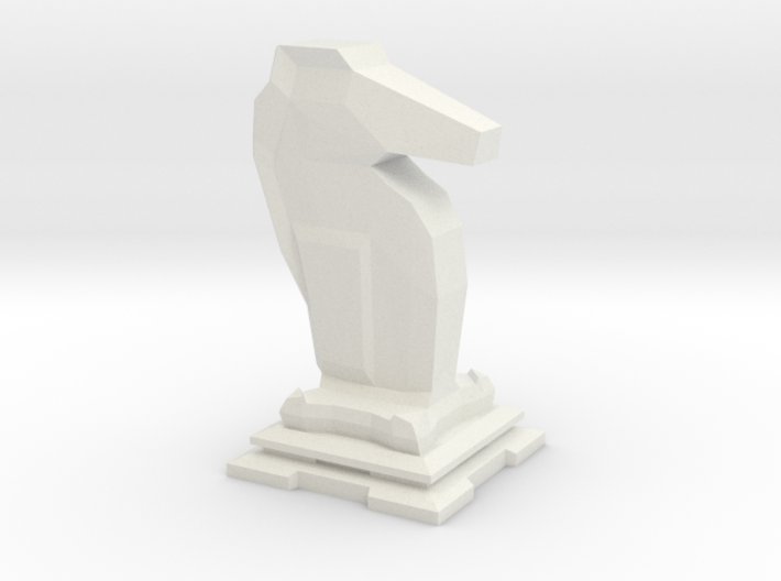 Knight - Mini Chess Piece 3d printed