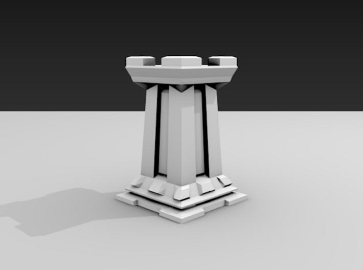 Rook - Mini Chess Piece 3d printed
