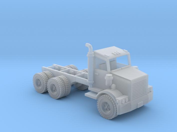 Water Truck Semi Z Scale 3d printed