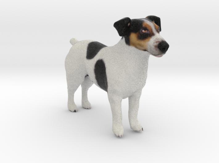 Standing Jack Russell Terrier 3d printed