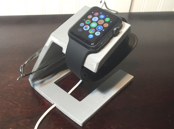 TRIO Apple Watch, iphone and Glasses Docking stati 3d printed