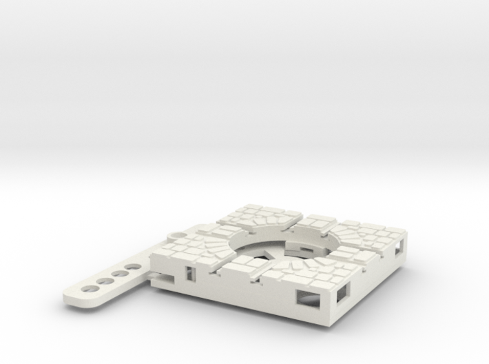 T-9-wagon-turntable-24d-100-plus-base-large-1a 3d printed