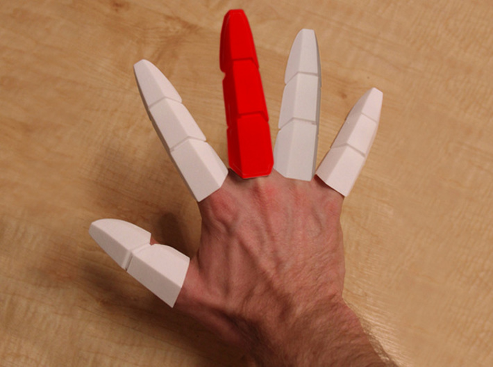 Iron Man Middle Finger 3d printed