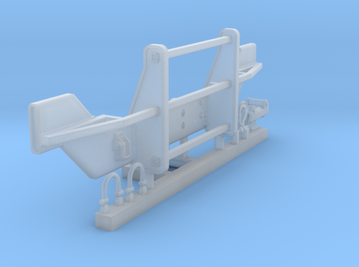 1/35 SPM-35-002 HMMWV front bumper 3d printed