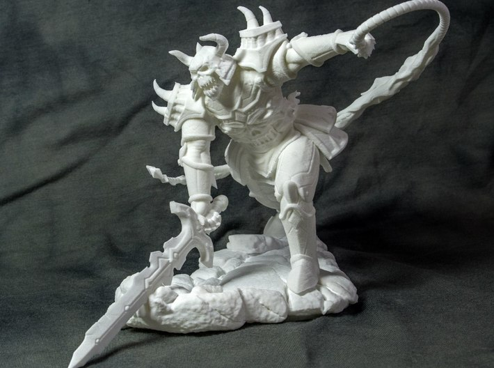 Armour of pain 3d printed