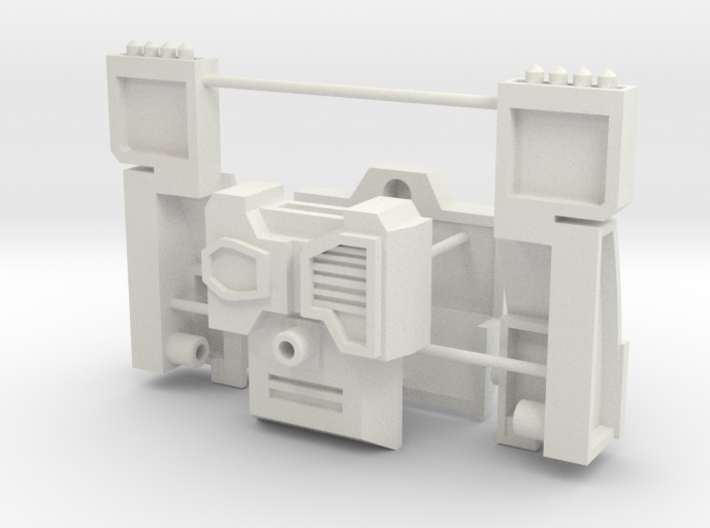 Customatron Carformer - Erebus Add on Kit 3d printed