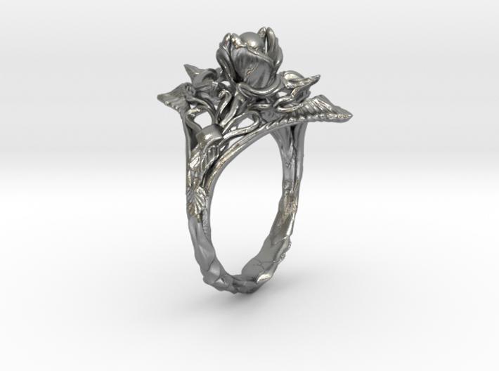 Ring Nouveau10 V01 3d printed