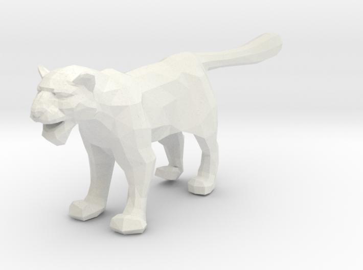 Snow Leopard - Toys 3d printed