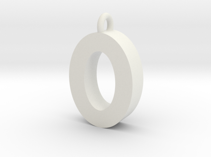 Alphabet (O) 3d printed Collection: Alphabet